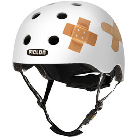 Melon Urban Active Story - Casque de vélo - Plastered White blanc